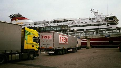 Artikkel Kuias laevale peale- ja mahasõiduks puhkeaega katkestada. Pilt on tehtud Ametikoolitus OÜ koolitaja Lenno Põderi poolt, kui nad 2016 suvel Norrast tagasi tulid.
