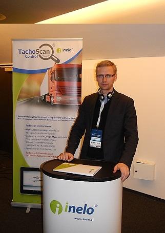 Ametikoolitus OÜ koolitaja Lenno Põder Poolas töö- ja puhkeaja koolitusel firmas Inelo - TachoScan tarkvara tootja. Koolitus oli individuaalne.
