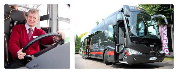 LuxExpressi bussijuhtide liiklusohutuskoolitus.